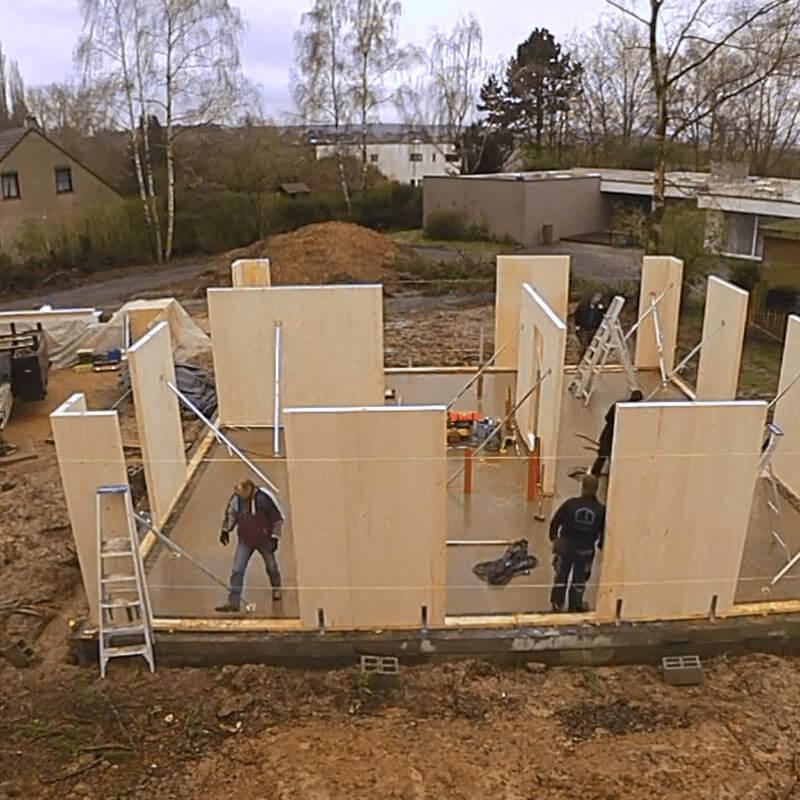 Chantier nouvelle construction bois